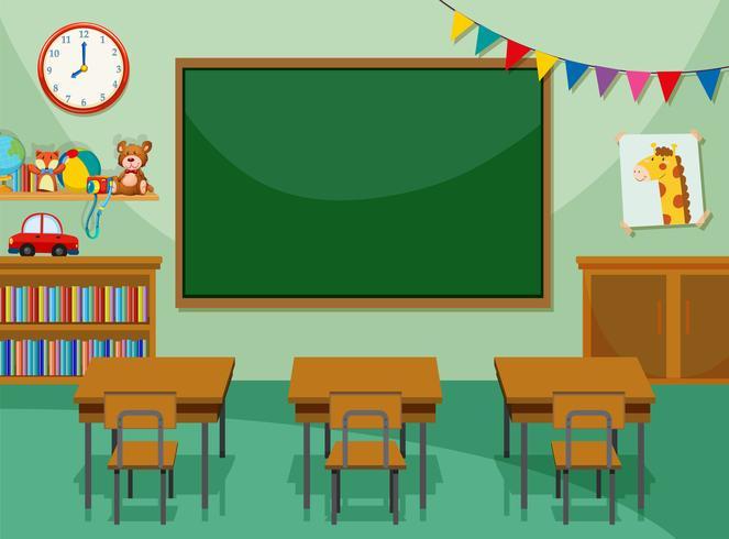 Inredning i klassrummet