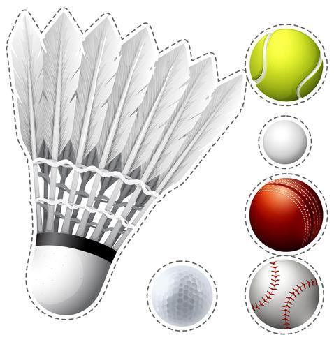 Diferentes tipos de bolas