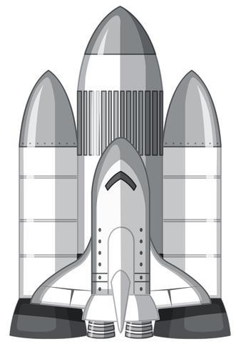 Una grande navetta spaziale