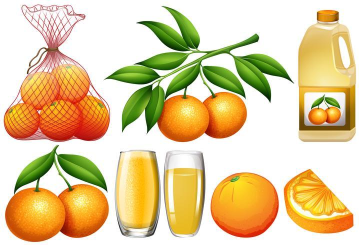 Apelsiner och apelsinprodukter