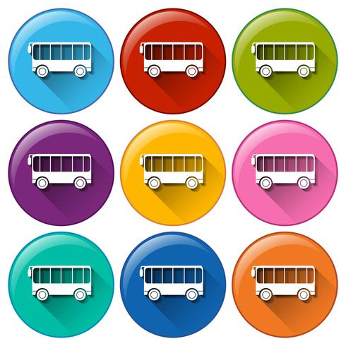 Iconos de bus