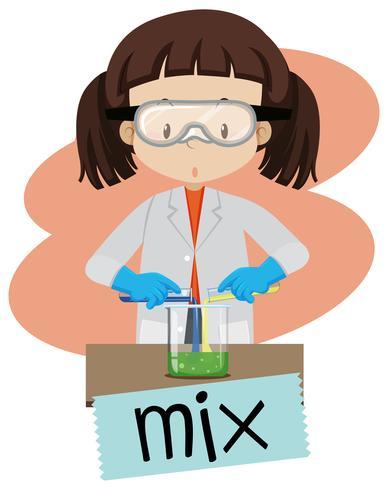 Mulher no laboratório