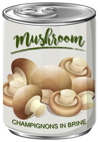 A Can of Mushroom