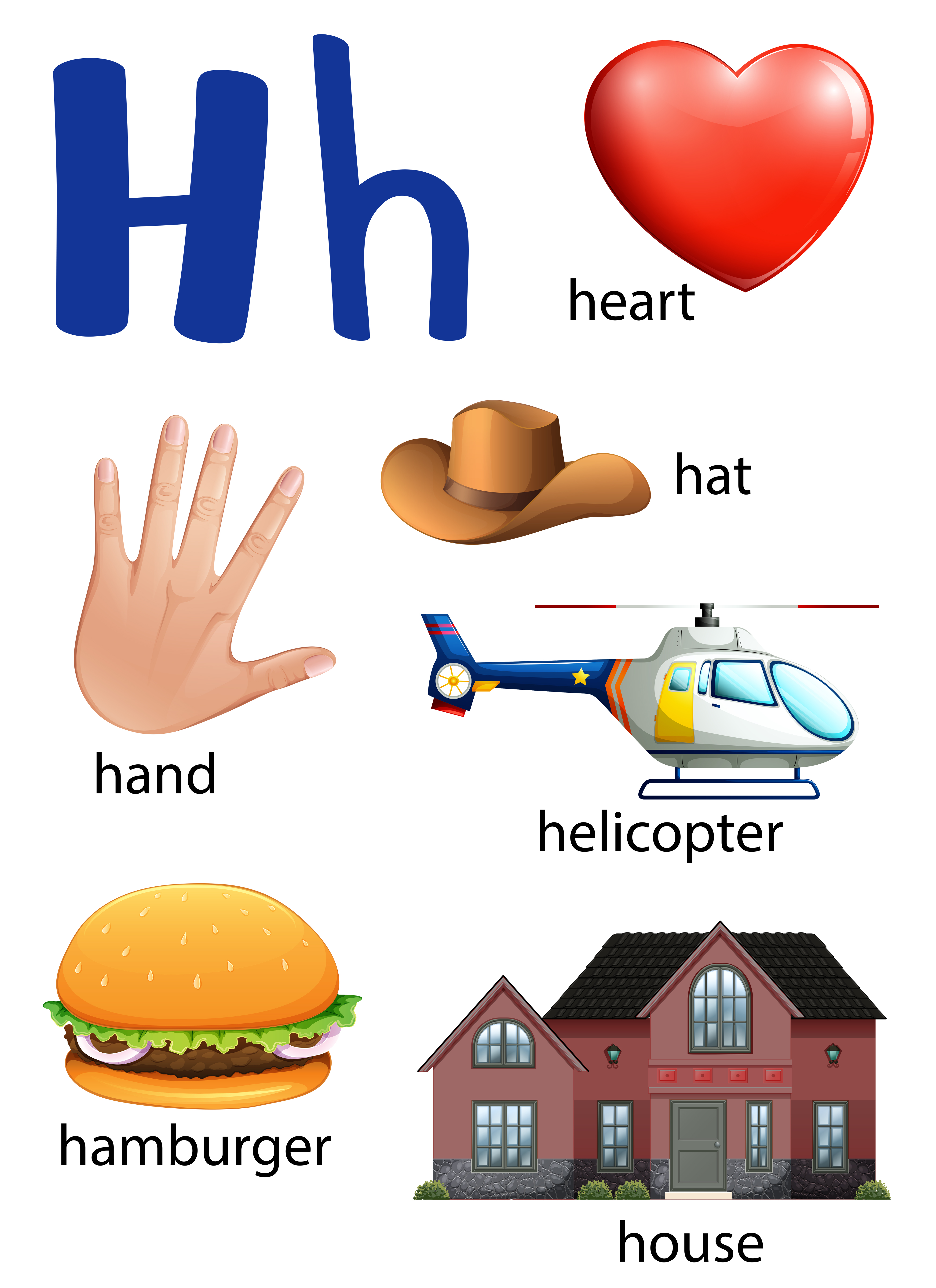Things that start with the letter H - Download Free ...