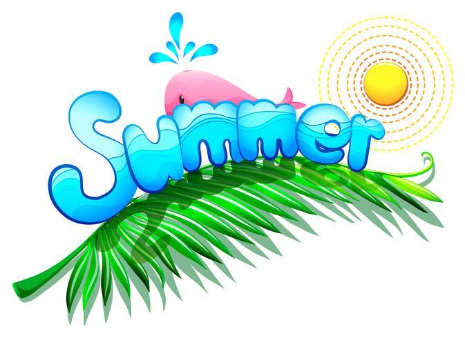 Um modelo de verão
