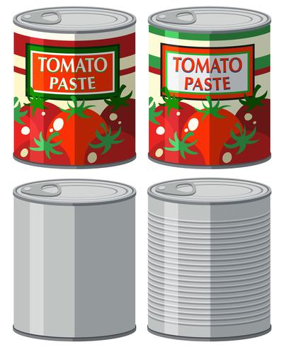 Aluminum can with and without label