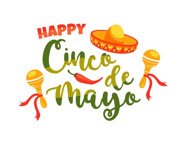 Cinco de Mayo. Illustrazione vettoriale