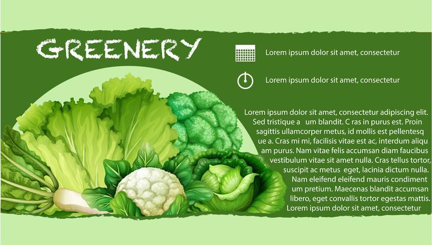 Legumes Verdes com texto