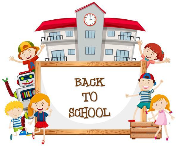 Whiteboard en terug naar school