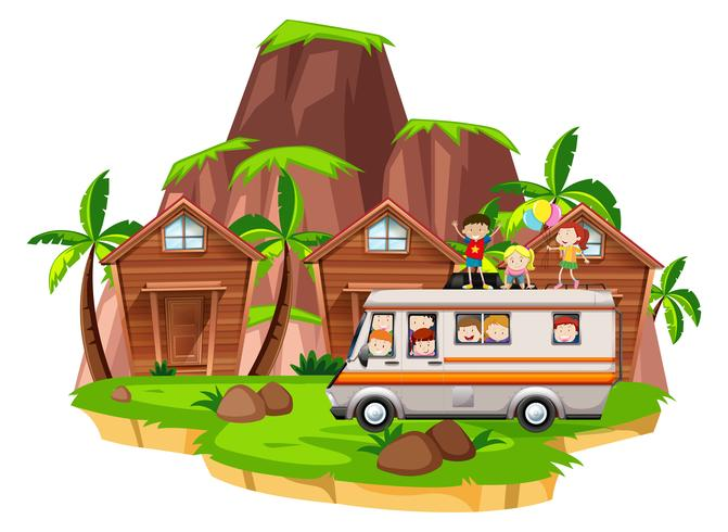 I bambini vanno in camper