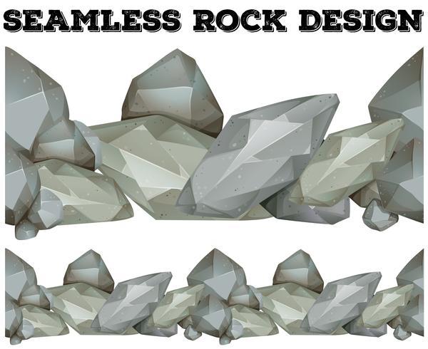 Seamless gray rock design