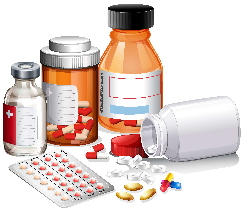 Картинки с изображением лекарств для детей