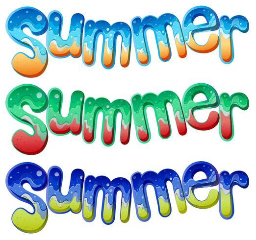 Textes d'été