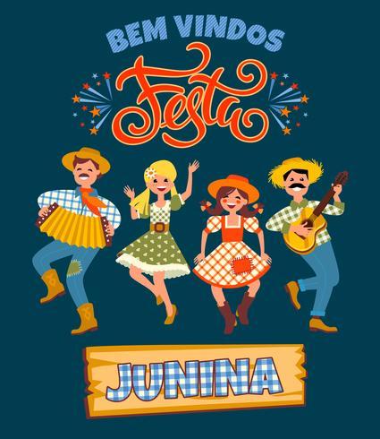 Feriado da América Latina, a festa junina do Brasil.