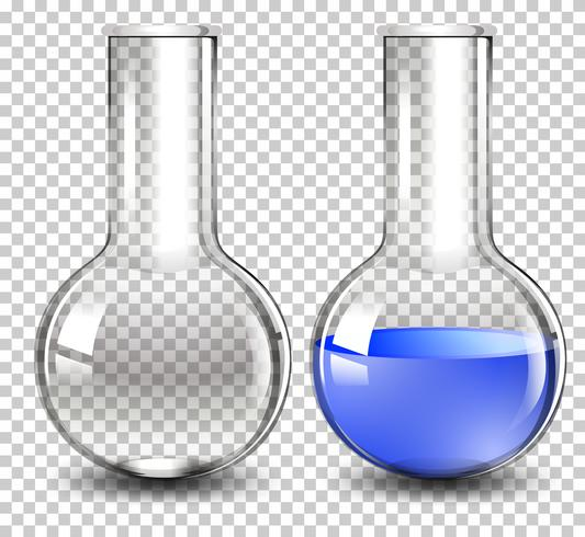 Florence flask on transparent background vector