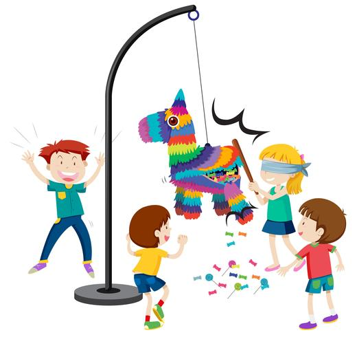 Hit the pinata game