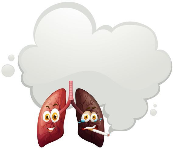 En jämförelse av mänsklig lunga