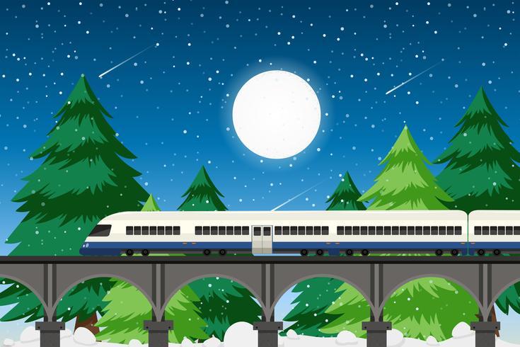 Landelijk vervoer in de natuur
