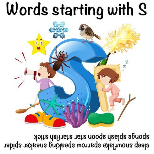Englische Wörter beginnend mit S