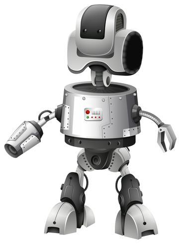 Diseño de robot con características avanzadas.