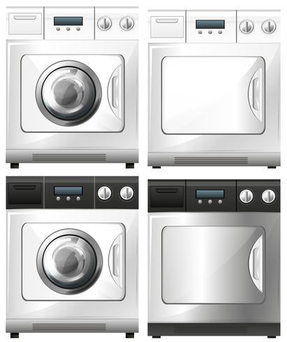 Washing machine and dryer machine