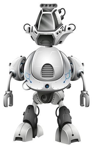 Design de robô com grande corpo