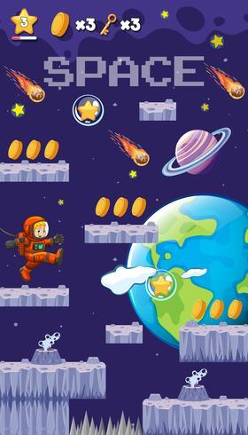 Um salto no jogo espacial