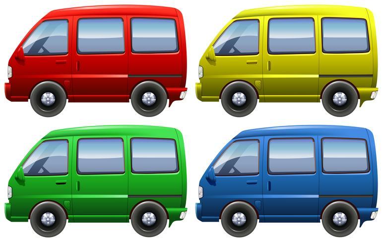 Conjunto de vans