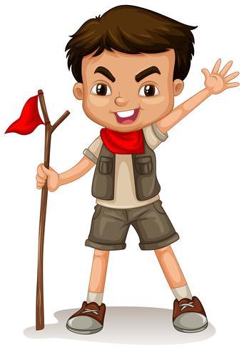 A Boy Scout vector