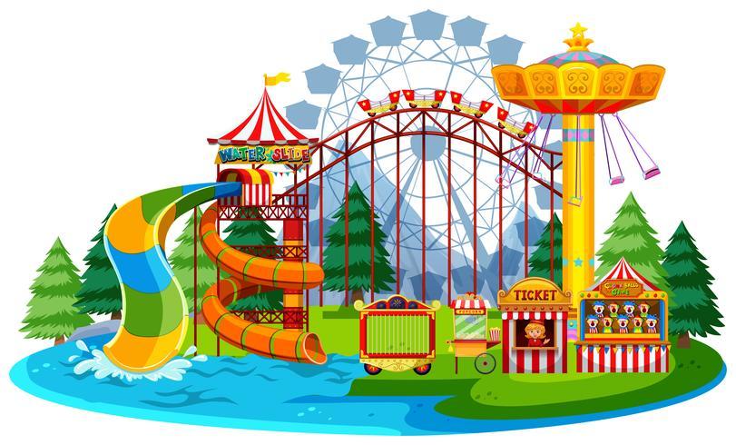 roligt vatten temapark