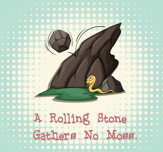 Rolling stone no recoge musgo