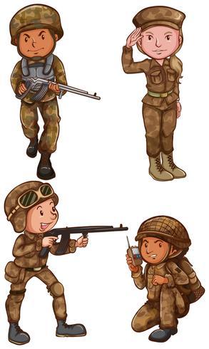 Soldati coraggiosi