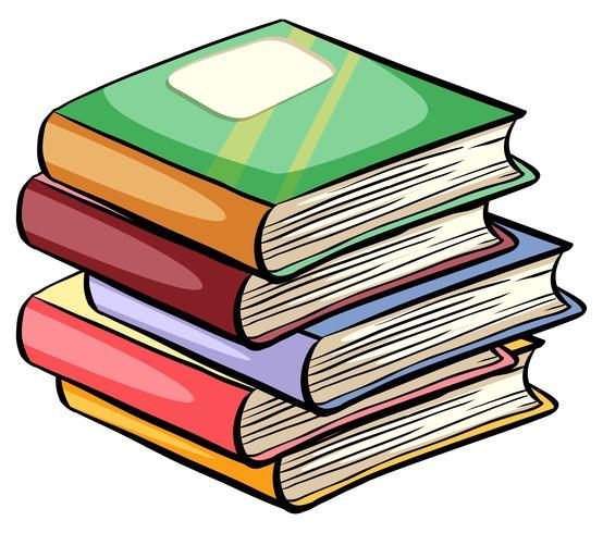 Een stapel boeken