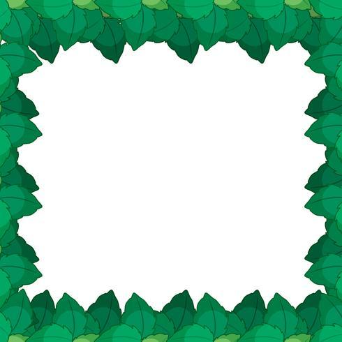 Groene leafe aard frame