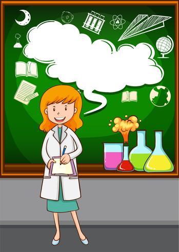Vetenskapslärare undervisning i skolan