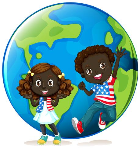 African american kids on earth