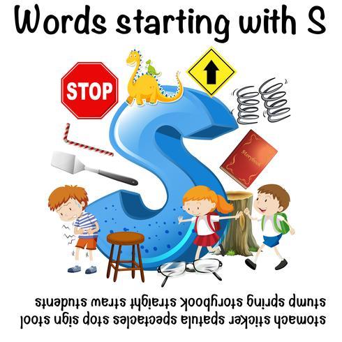 Wörter, die mit dem Buchstaben S beginnen