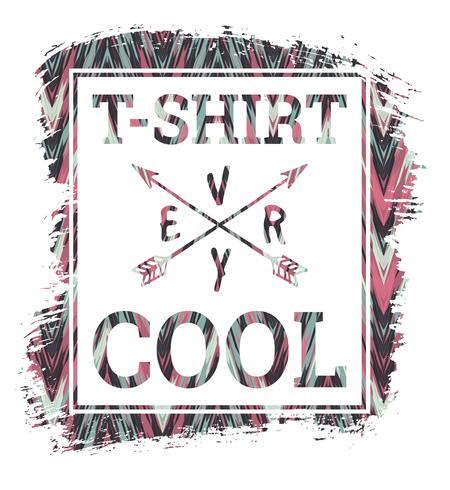Illustration vectorielle avec le slogan