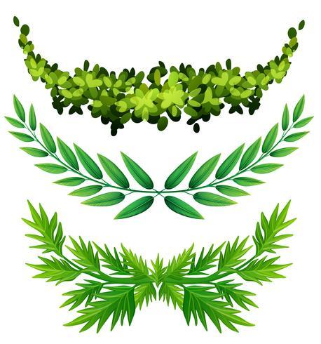 Växtdesign för dekoration vektor