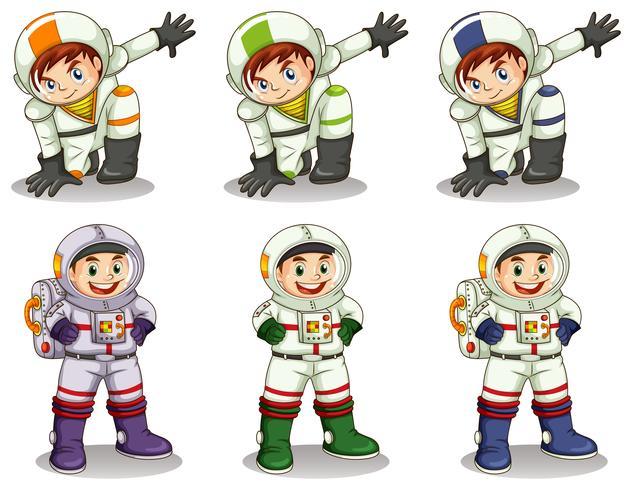 Jonge astronauten