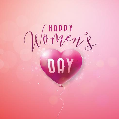 Happy Womens Day Greeting card
