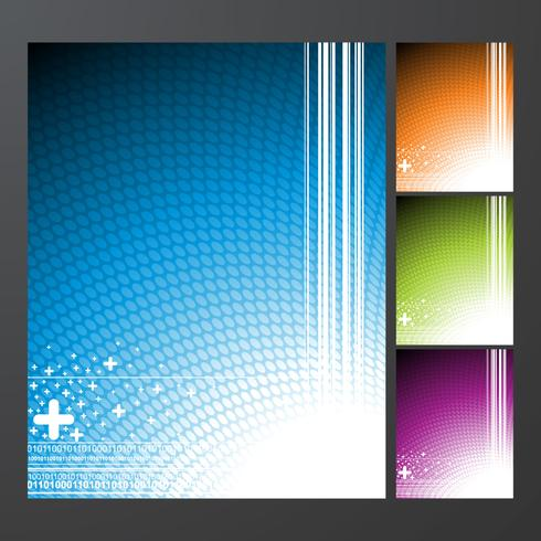 Abstract vector background collection