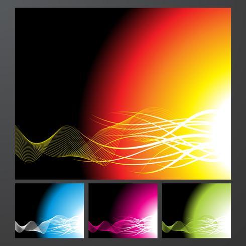 Abstract Vector Hintergrund Sammlung