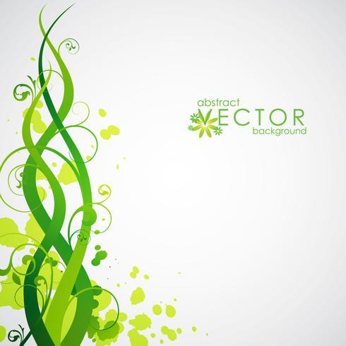 vår vektor vektor illustration med blommig motiv