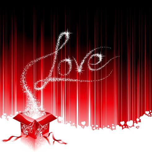 Valentijnsdag thema met naai-hart