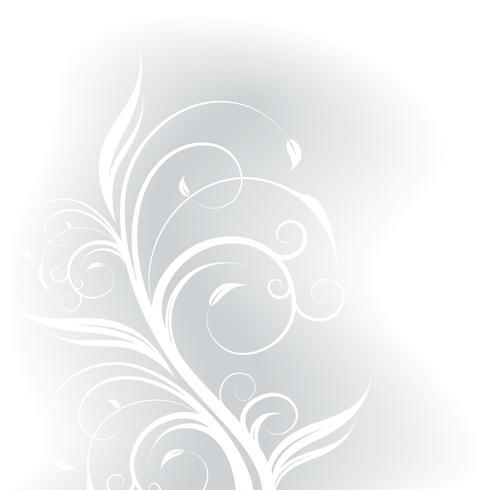 lente vector achtergrond illustratie met bloemen motief