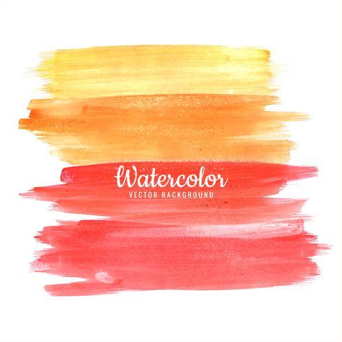 Abstract kleurrijk handdraw ontwerp van de waterverf het elegante slag