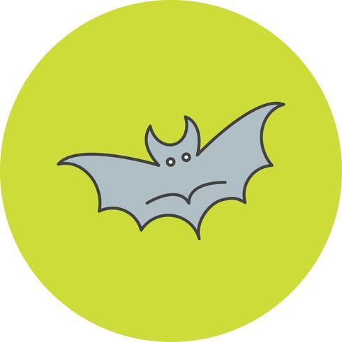 ícone de morcego de vetor