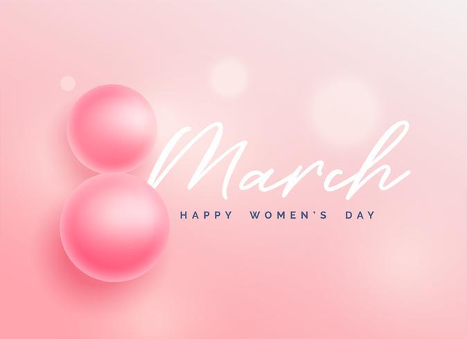schöner glücklicher Frauentaghintergrund