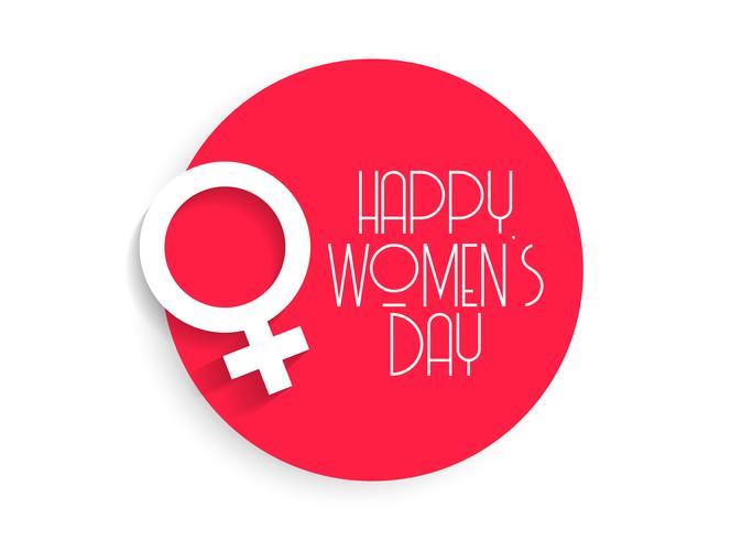 stylish happy women's day background